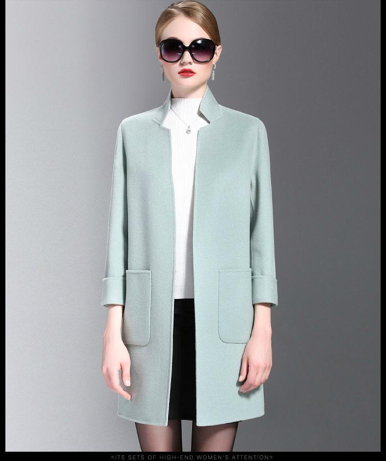 双面羊绒大衣 1