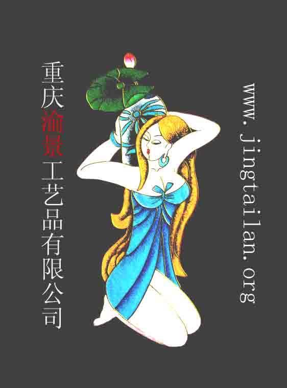 景泰蓝工艺画材料 3