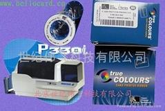 美国斑马P330I证卡打印机色带耗材