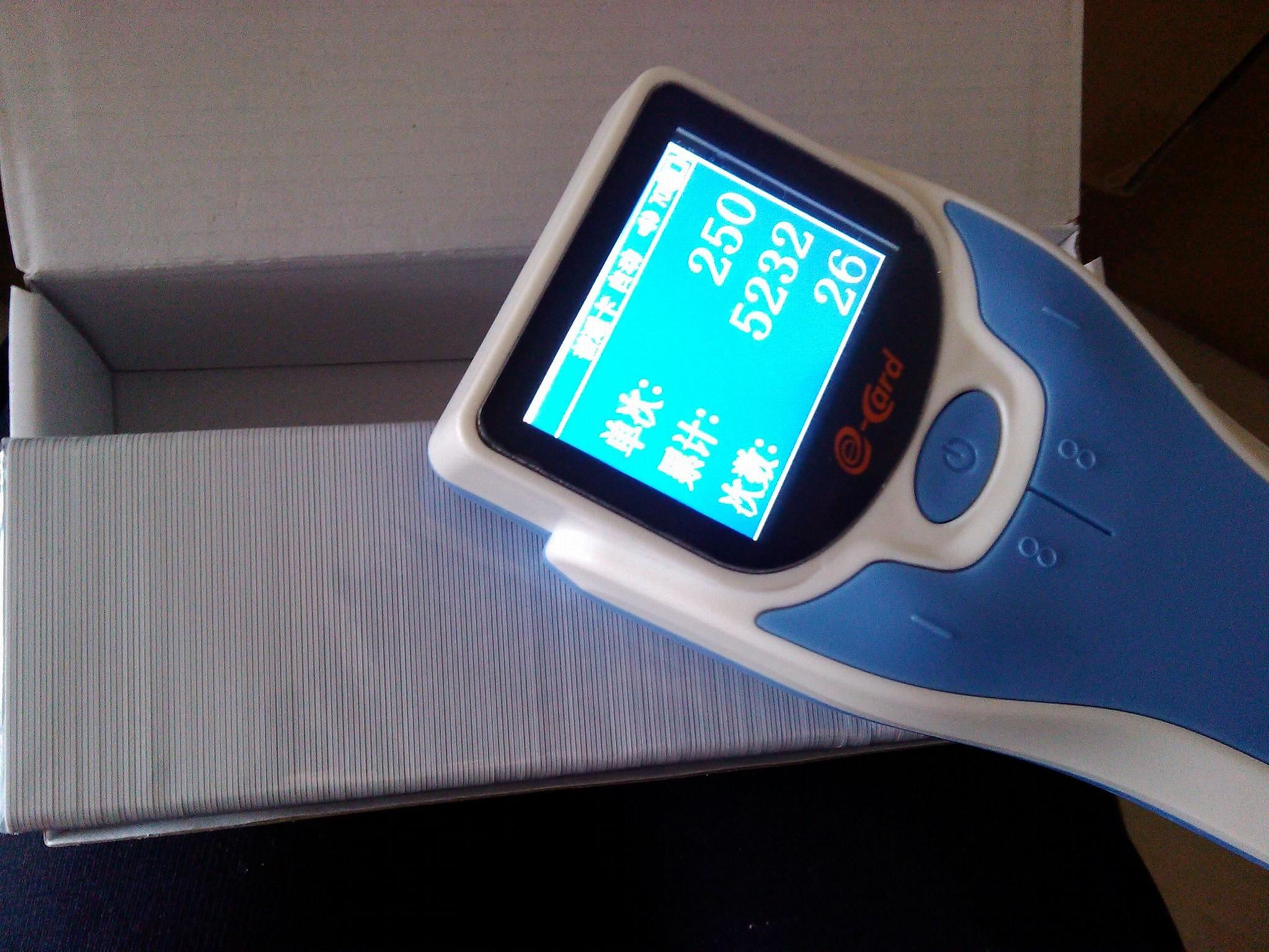易卡得800手持式智能数卡机 1