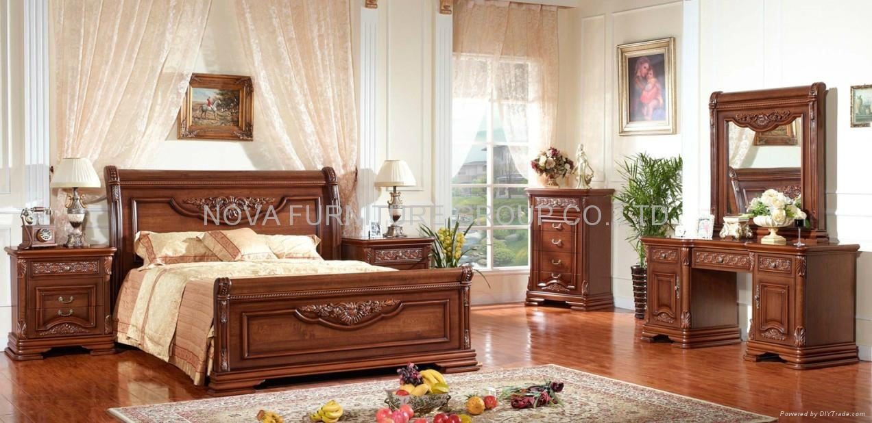Classic Wooden Bedroom Furniture 8013 Nova Furniture Group Co Ltd China Manufacturer