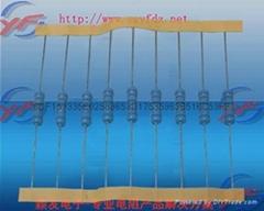 颖发插件色环精密金属膜电阻