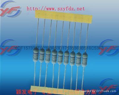 深圳颖发UL/VDE-1watt保险电阻 2