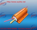金色600W鋁外殼水冷電阻器 2