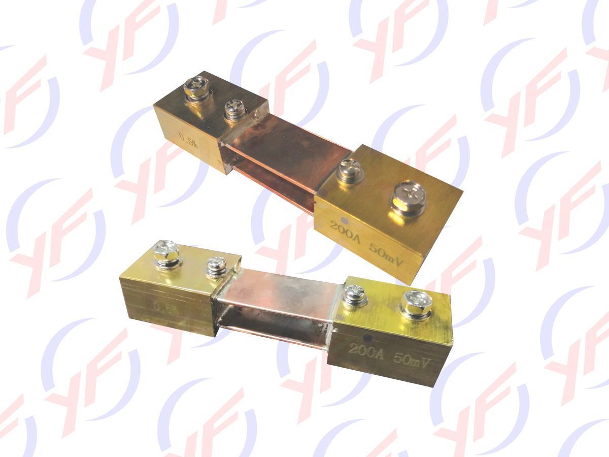 广东贴片合金200A取样电阻器 1