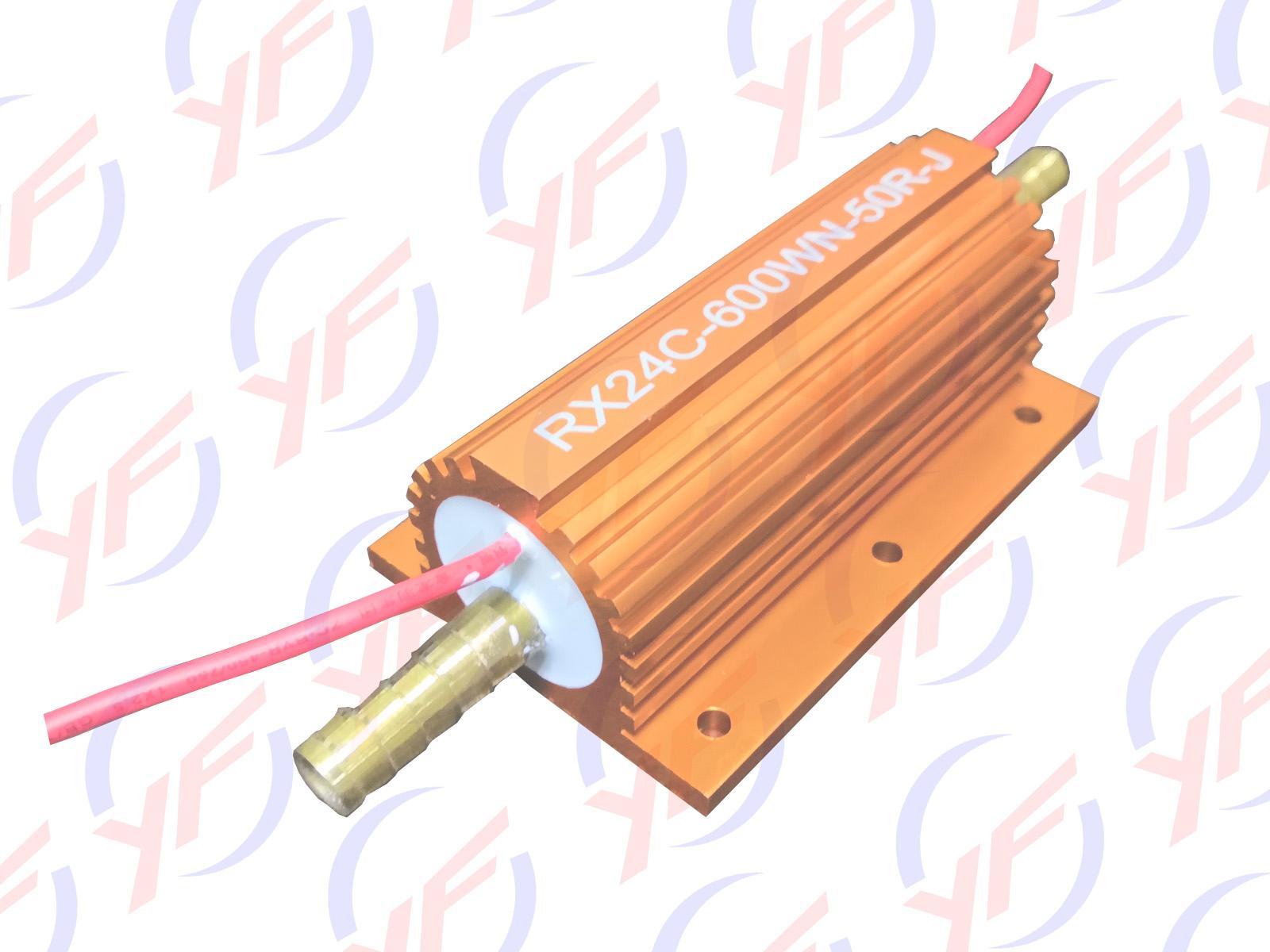 金色600W铝外壳水冷电阻器 1