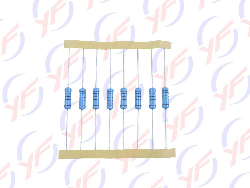 原厂直销插件1W色环精密金属膜电阻 1