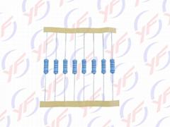 原厂直销插件1W色环精密金属膜电阻