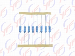 Plug-in color-ring high-precision meatl film resistor