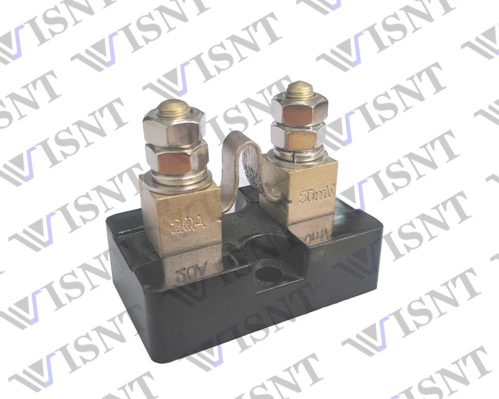 高精度50A电流取样分流器 3