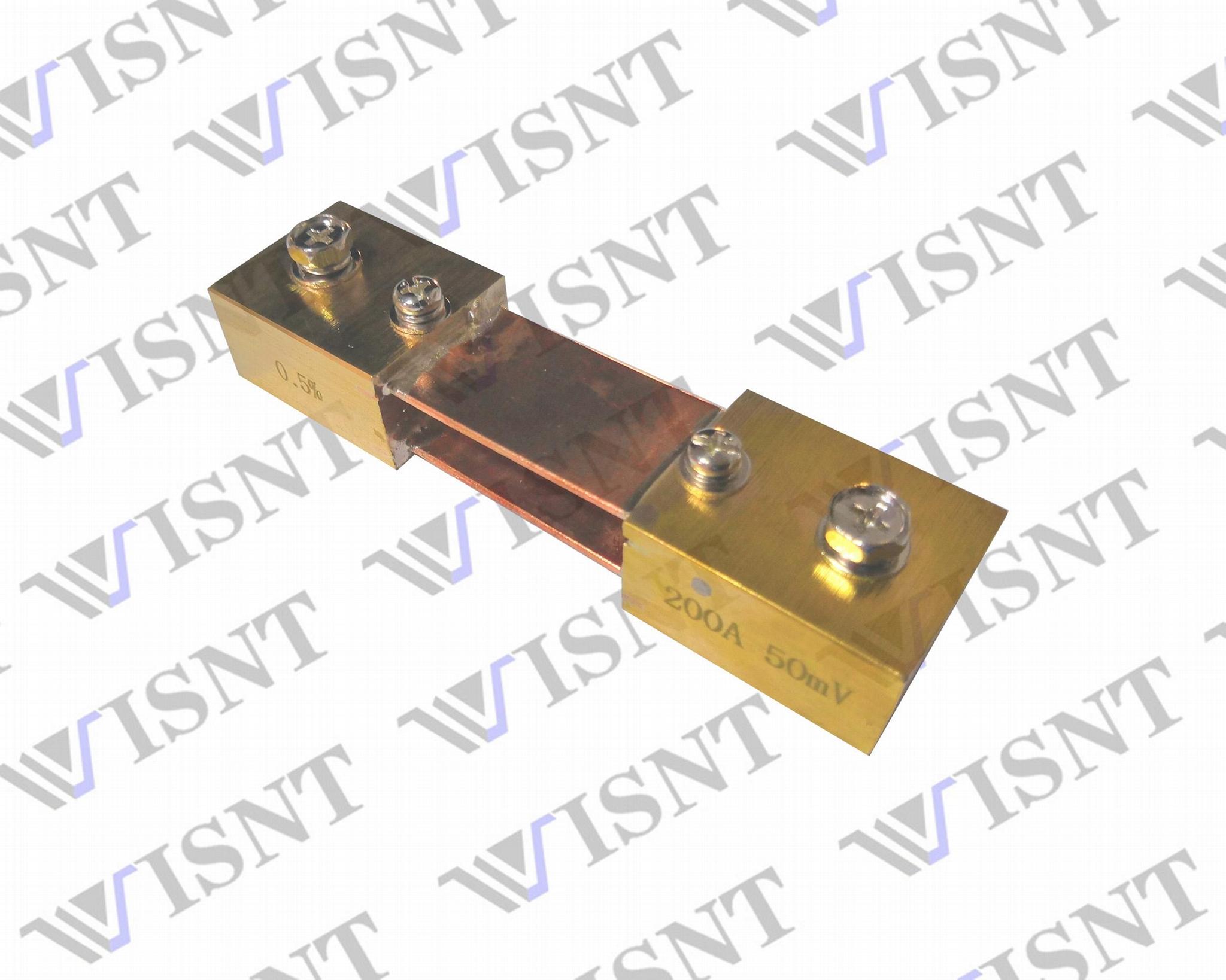 广东贴片合金200A取样电阻器 2
