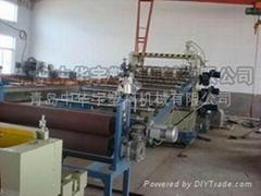 PE/PP塑料板材挤出生产线
