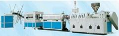 PE碳素螺旋增強管材生產線