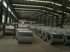 DX51D+Z full hard zinc coated steel coil