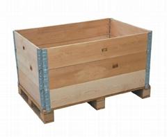 佛山折疊圍板木箱