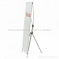 X Banner Stand  Adjustable Model Y