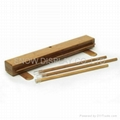 Eco friendly bamboo roll up