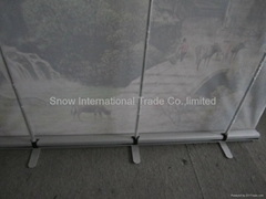 Super size roll up  banner stand model 2