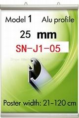 Poster Clamp Skyliner 25mm