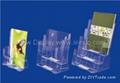 Countertop brochure holder