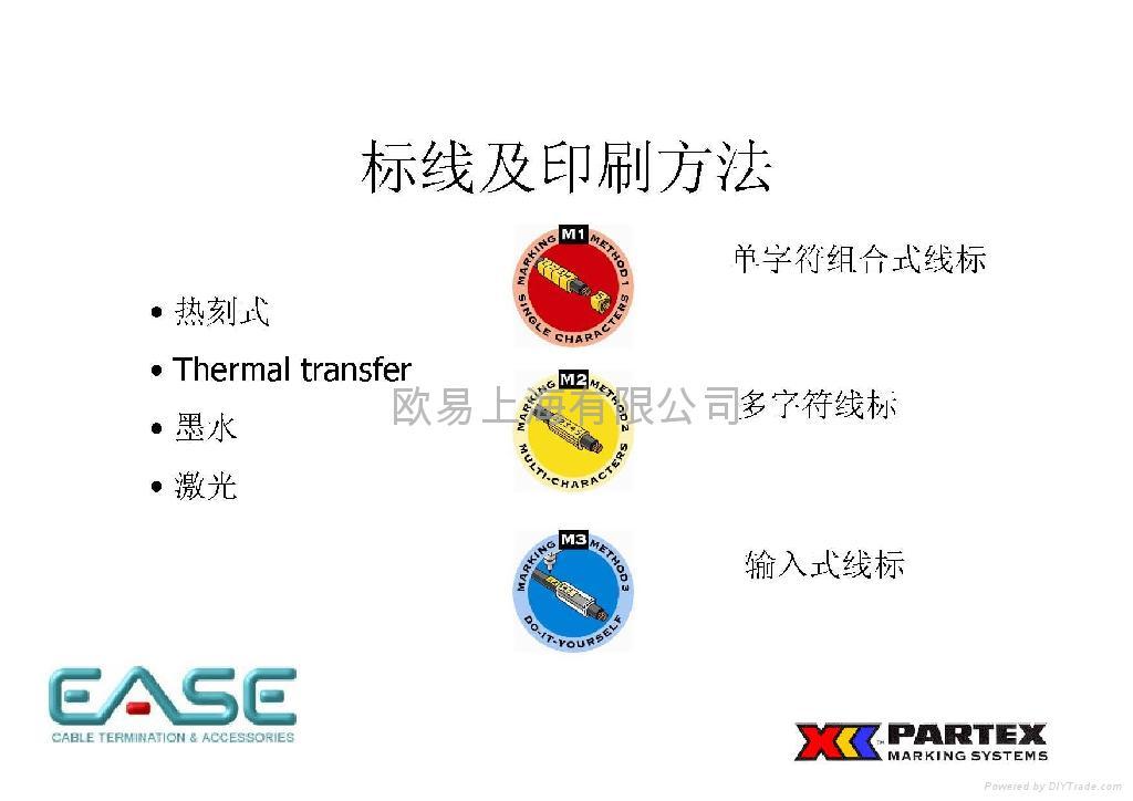 进口PC型开口式单字符线标 3