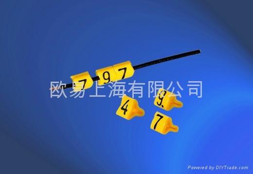 进口-PC型开口式单字符线标: 1