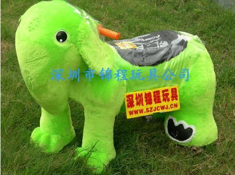 毛绒电动玩具车A 3