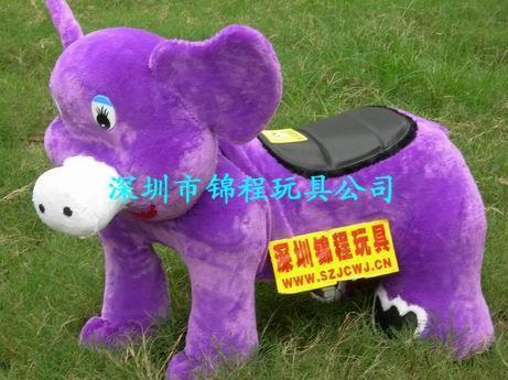 毛绒电动玩具车A 4
