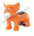 毛绒电动玩具车大熊猫 1