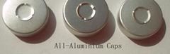 All-Aluminium tear off caps