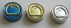 Pull-ring Aluminium caps