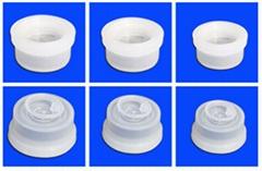 塑料输液容器用聚丙烯组合盖(拉环式)