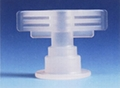 port for plastic infusion bag