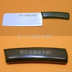紫光檀木刀柄