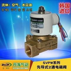 韩国DANHI丹海先导式电磁阀2通电磁阀SVPS2135~2195水蒸气电磁阀