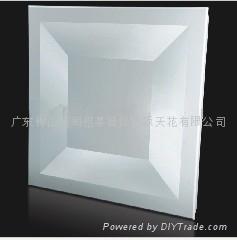 異形鋁天花對角吊頂板 1
