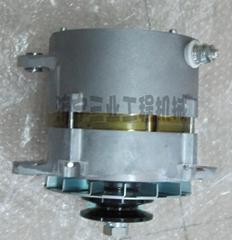 小松挖掘機配件pc200-7發電機