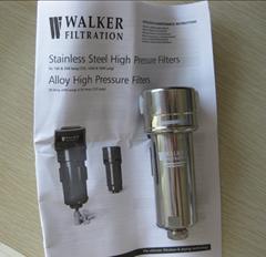 Walker壓縮空氣高溫過濾器不鏽鋼過濾器