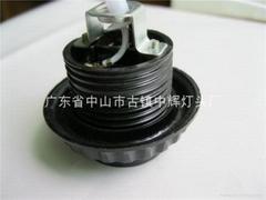 E27--黑电木内牙灯头