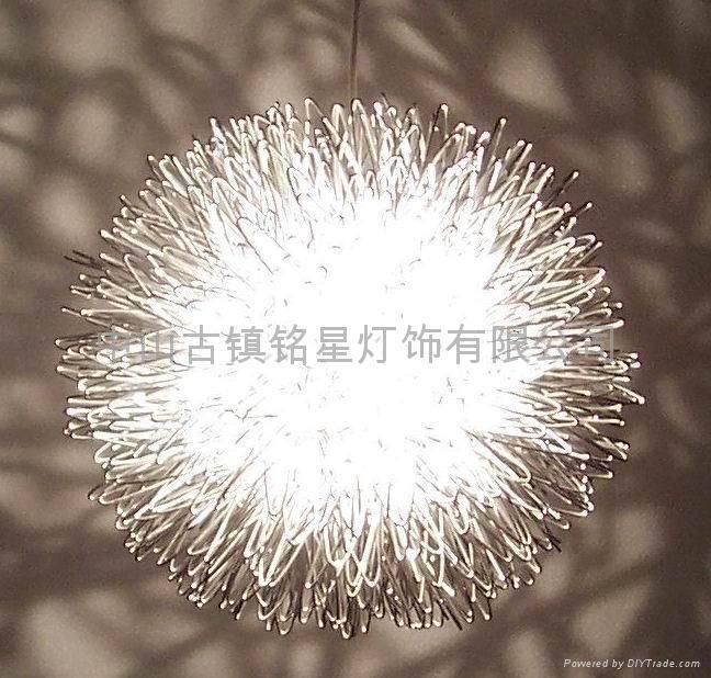 aluminium pendant lamp and floor lamp 3