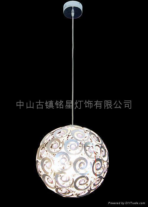 aluminium pendant lamp and floor lamp 4