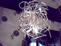 Aluminum ball chandelier creative restaurant 2