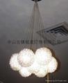 Big horse resin floor lamp good sales handwork hotel lighitng 2