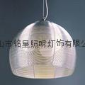 Restaurant chandelier fashion aluminum braid