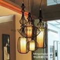 歐式水母鳥籠鐵藝情調咖啡館家裝燈具  2