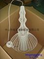 歐式水母鳥籠鐵藝情調咖啡館家裝燈具  5