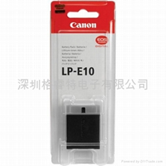 LP-E10 battery For CANON EOS 1100D EOS
