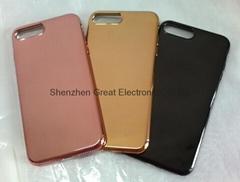 iphone三星华为手机电镀保护套软壳