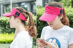 Yoga sport Bluetooth Wireless Music hat With Microphone & Stereo Headphone