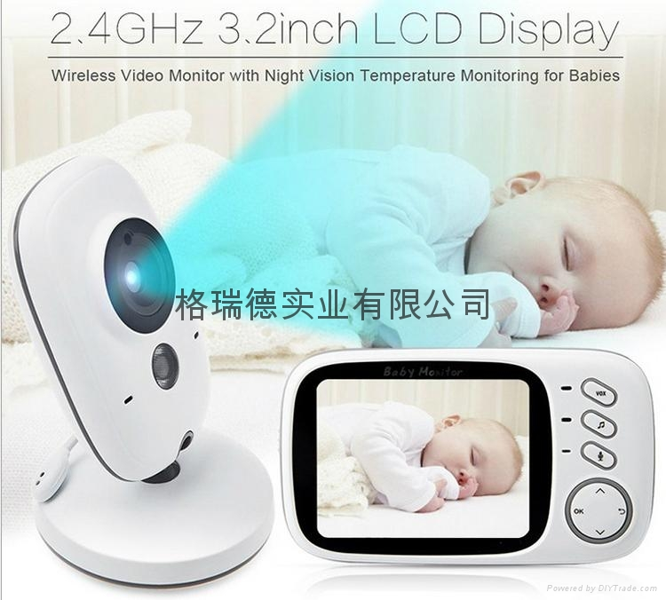 Wireless Security Camera HD WiFi Surveillance IP Camera Home baby Monitor 1
